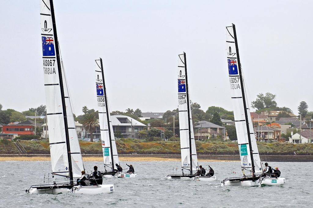 ISAF Sailing World Cup, Melbourne Day 2 © Richard Gladwell www.photosport.co.nz