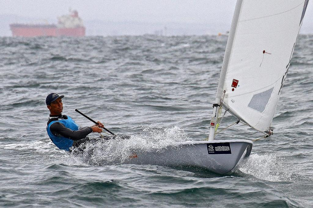 ISAF Sailing World Cup, Melbourne Day 3 - Laser © Richard Gladwell www.photosport.co.nz