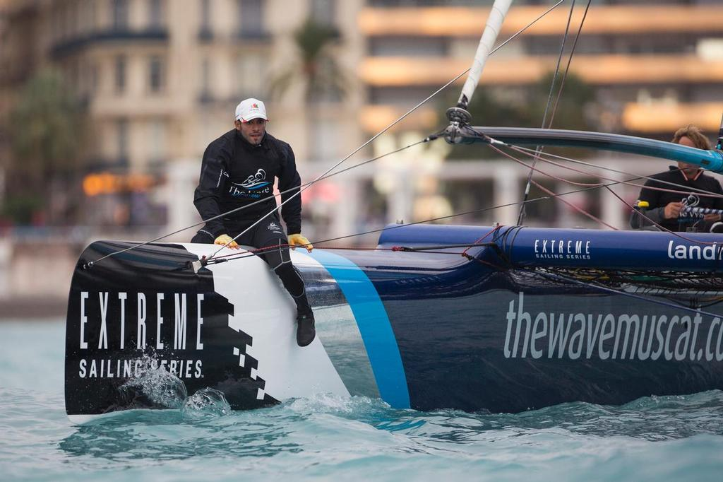 The Wave Muscat - Extreme Sailing Series 2013 © Lloyd Images