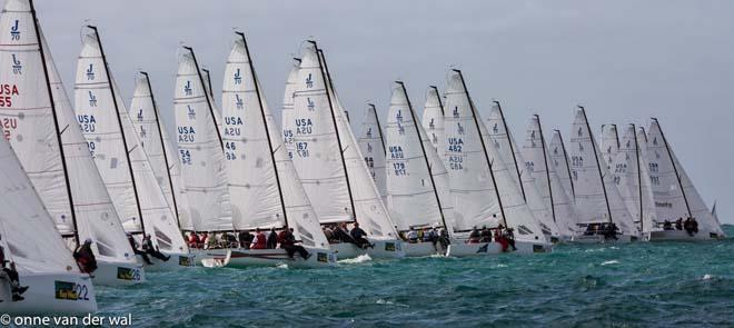 J class action at Quantum Key West 2014 © Onne Vanderwal
