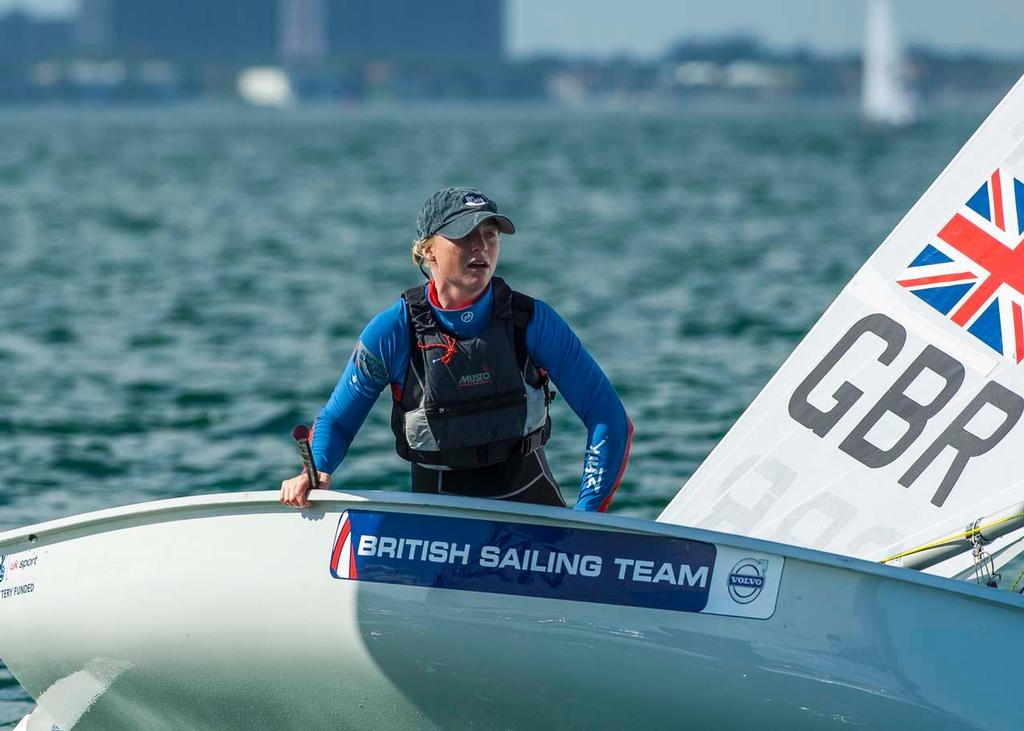 ISAF Sailing World Cup Miami 2014 - Day 1 GBR © Walter Cooper /US Sailing http://ussailing.org/
