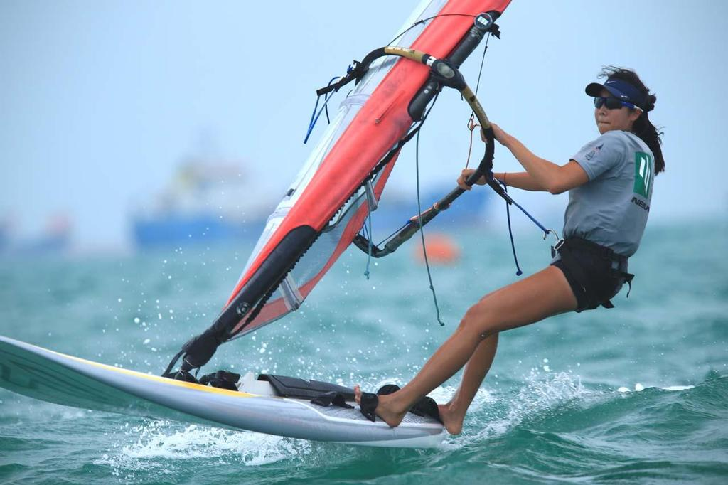 Singapore Open Asian Windsurfing Championship 2014 - Day 2 © Howie Choo