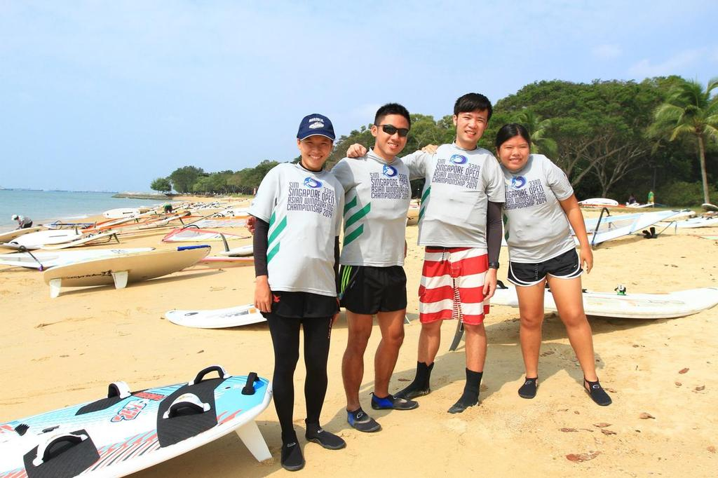Singapore Open Asian Windsurfing Championship 2014 ©  Icarus Sailing Media http://www.icarussailingmedia.com/