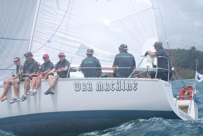 2nd War Machine - Bay of Islands Sailing Week © Various Incl Will Calver and Lesley Haslar