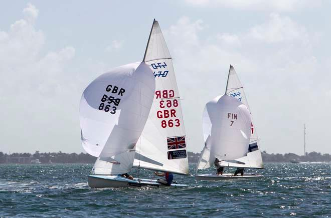 ISAF Sailing World Cup Miami 2014 © Richard Langdon /Ocean Images http://www.oceanimages.co.uk