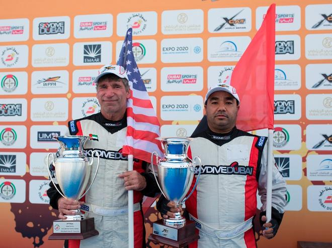 Price and AlDhaheri  © UIM Xcat Middle East Championships http://www.uimpowerboating.com/