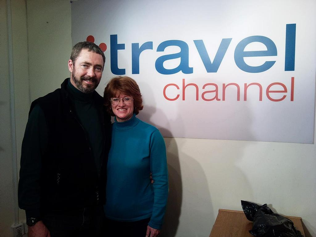 Paul and Sheryl Shard earn their living producing the Distant Shores sailing TV series which is broadcast around the world in 24 languages on numerous TV channels. They cruise 6-8 months of the year filming. © Sheryl Shard