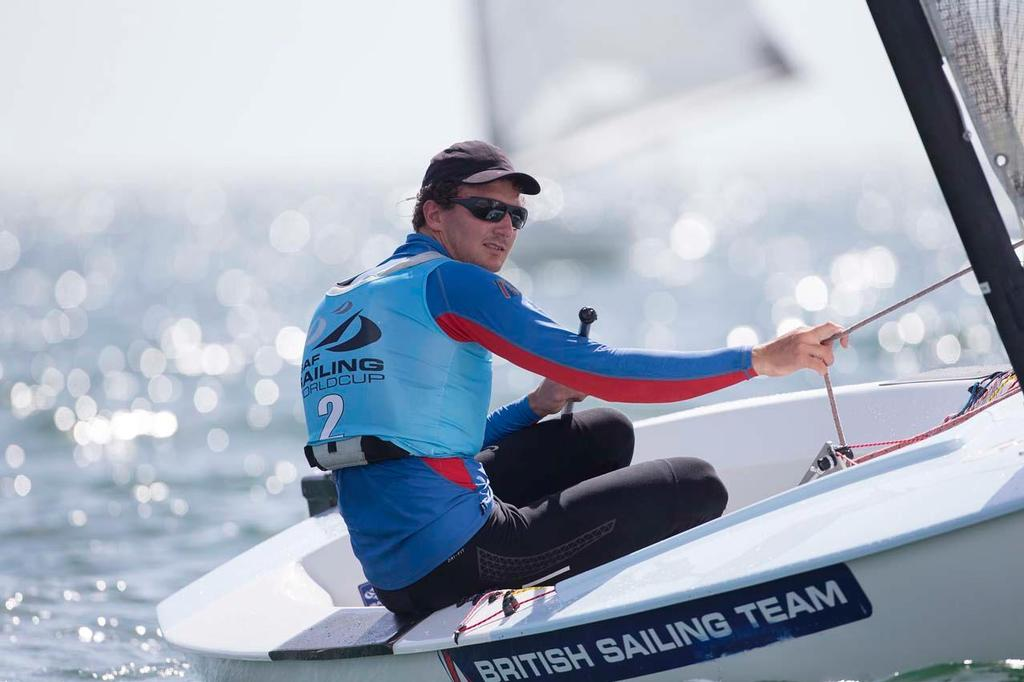 Giles Scott, Finn - ISAF Sailing World Cup Miami 2014 © Richard Langdon /Ocean Images http://www.oceanimages.co.uk