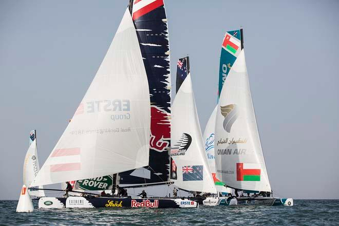 2014 Extreme Sailing Series Act 2 © Lloyd Images/Extreme Sailing Series