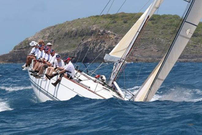 Ready for good competition, Lancelot II looking forward to the regatta © Louay Habib/BVI Spring Regatta & Sailing Festival