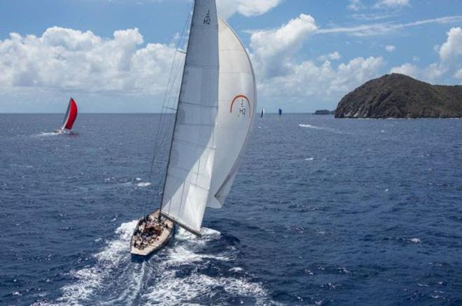 Loro Piana Caribbean Superyacht Regatta and Rendezvous 2014 - Day 2 © Jeff Brown / Superyacht Media