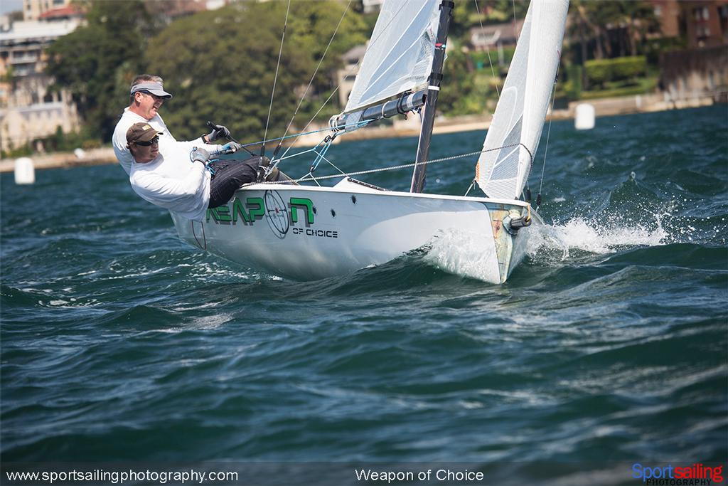 Weapon of Choice VX One - 2014 HH Sydney Harbour Regatta © Beth Morley - Sport Sailing Photography http://www.sportsailingphotography.com