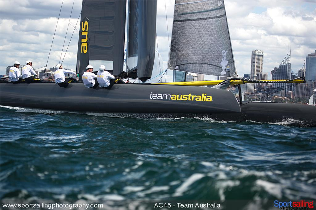 Team Australia - 2014 HH Sydney Harbour Regatta © Beth Morley - Sport Sailing Photography http://www.sportsailingphotography.com