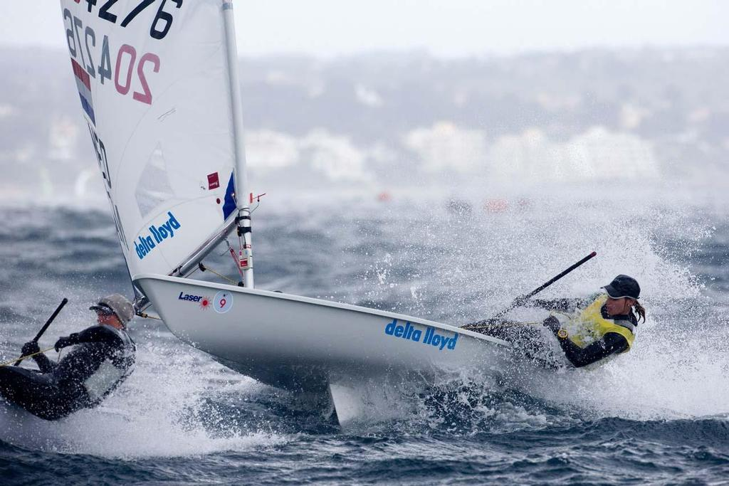 2014 ISAF Sailing World Cup Mallorca, day 4 - Laser Radial © Ocean Images