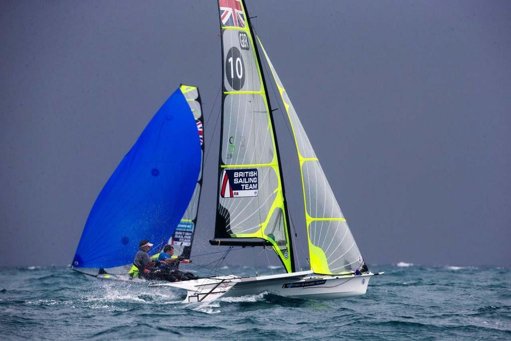 2014 ISAF Sailing World Cup Mallorca, day 4 © Ocean Images