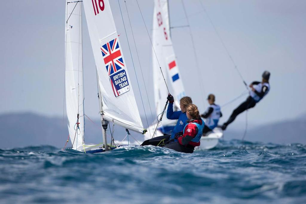 2014 ISAF Sailing World Cup Mallorca, day 5 © Ocean Images