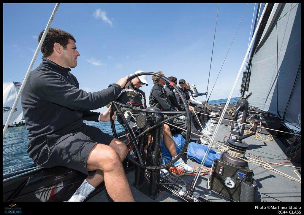 RC44 Cascais Cup - John Bassadone at the helm of Peninsula © RC44 Class/MartinezStudio.es