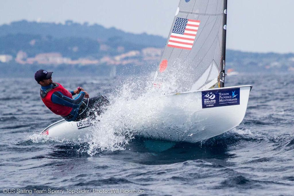 Caleb Paine (San Diego, Calif.), Finn, US Sailing Team Sperry Top-Sider © Will Ricketson / US Sailing Team http://home.ussailing.org/