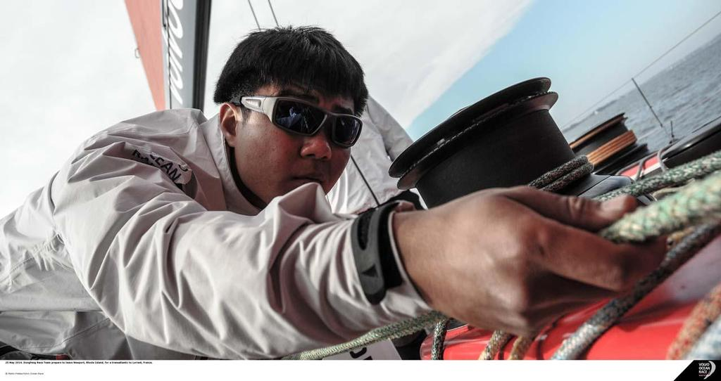 On board Dongfeng © Pedro Freitas /Volvo Ocean Race