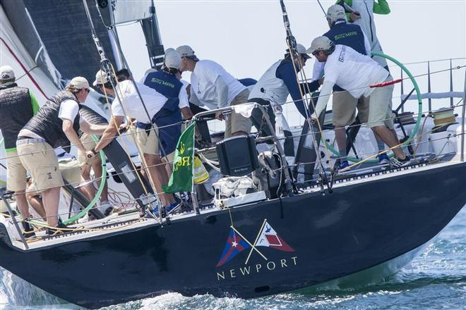 Hap Fauth's Bella Mente took first place in IRC 1 - 160th New York Yacht Club Annual Regatta 2014 ©  Rolex/Daniel Forster http://www.regattanews.com