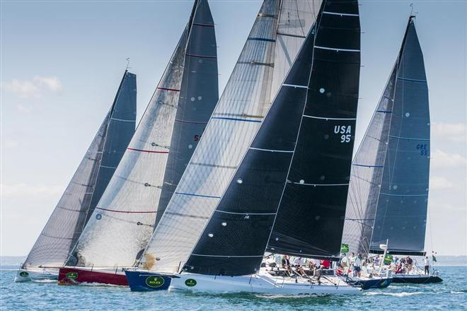 IRC 4 Class Start - 160th New York Yacht Club Annual Regatta 2014 ©  Rolex/Daniel Forster http://www.regattanews.com