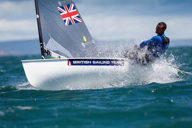 Giles Scott, Finn  ©  Paul Wyeth / RYA http://www.rya.org.uk