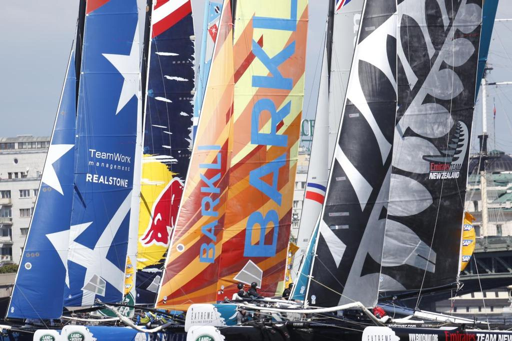 Extreme Sailing Series - Day 3, St Petersburg, Russia © Eugenia Bakunova http://www.mainsail.ru