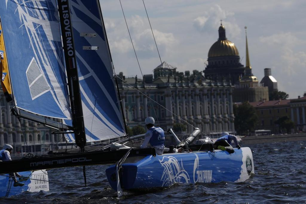 S7A2901 - Extreme Sailing Series - Day 3, St Petersburg, Russia © Eugenia Bakunova http://www.mainsail.ru