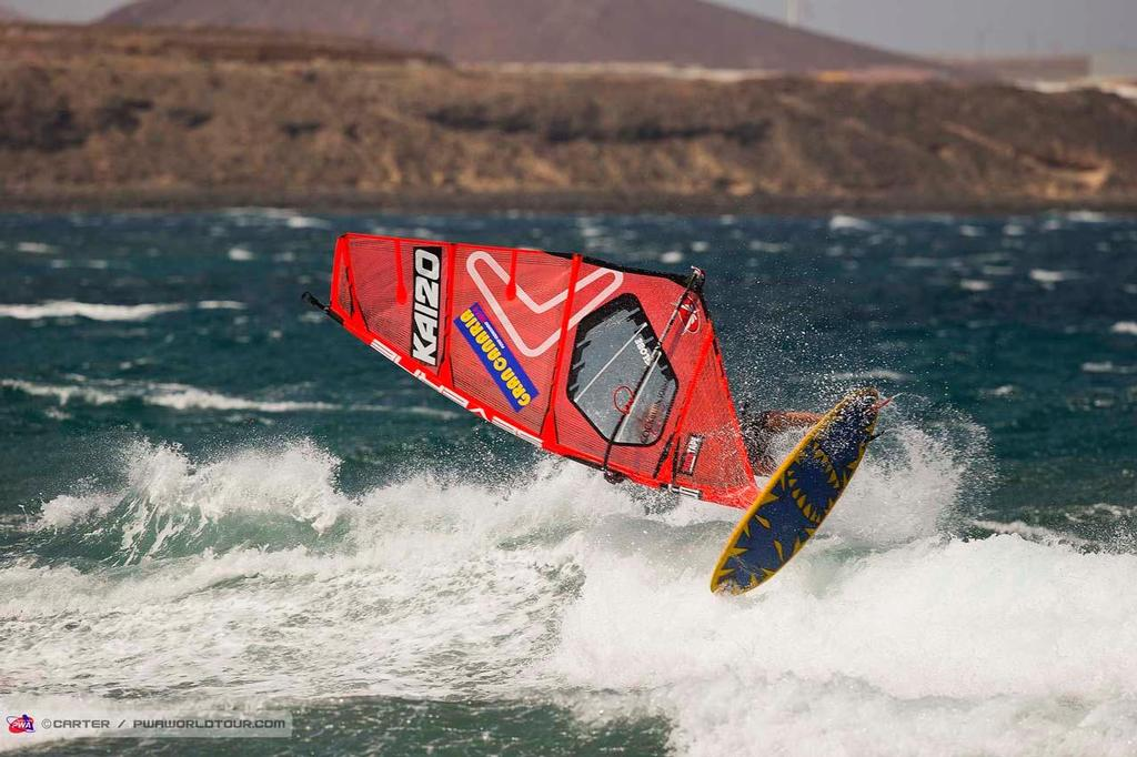 Jaeger Stone - 2014 PWA Pozo World Cup / Gran Canaria Wind and Waves Festival ©  Carter/pwaworldtour.com http://www.pwaworldtour.com/