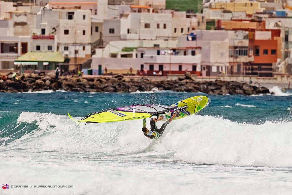 Josep Pons - 2014 PWA Pozo World Cup / Gran Canaria Wind and Waves Festival, Day 2 photo copyright  Carter/pwaworldtour.com http://www.pwaworldtour.com/ taken at  and featuring the  class