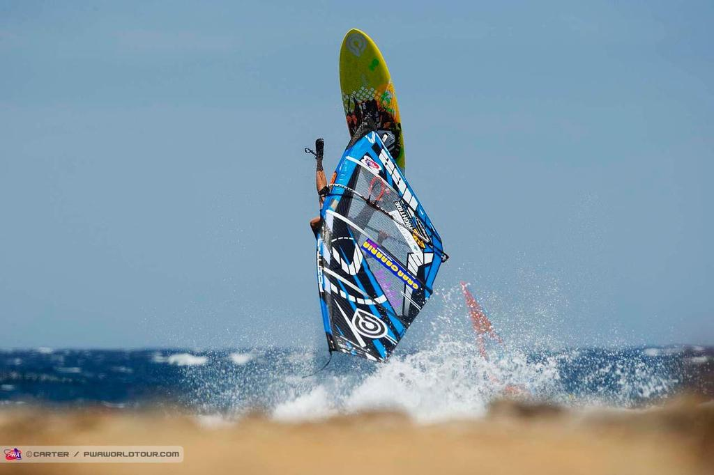Martin ten Hove - 2014 PWA Pozo World Cup / Gran Canaria Wind and Waves Festival ©  Carter/pwaworldtour.com http://www.pwaworldtour.com/