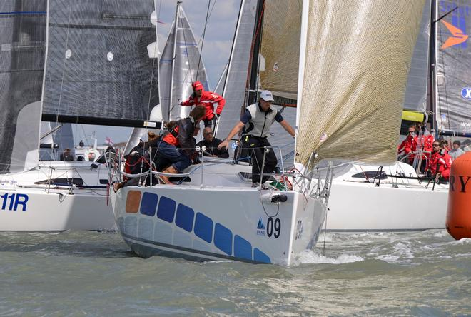 Sweeny 2014 J111 World Championship Cowes Isle of Wight England. 22 August 2014 Race 5,6 and 7 © Stuart Johnstone