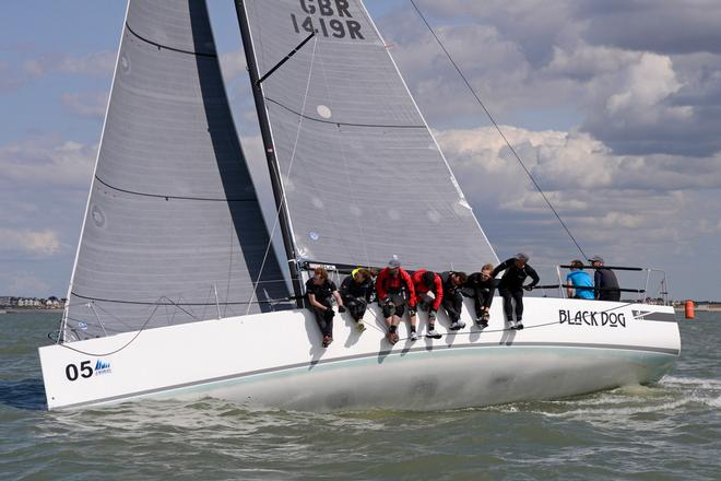 Black Dog 2014 J111 World Championship Cowes Isle of Wight England. 22 August 2014 Race 5,6 and 7 © Stuart Johnstone