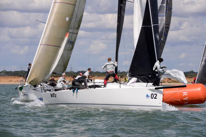 McFly 2014 J111 World Championship Cowes Isle of Wight England. 22 August 2014 Race 5,6 and 7 © Stuart Johnstone