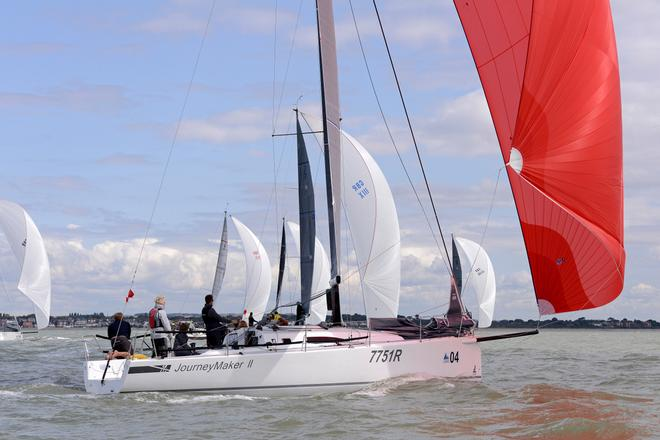 Journey Maker 11 2014 J111 World Championship Cowes Isle of Wight England. 22 August 2014 Race 5,6 and 7 © Stuart Johnstone