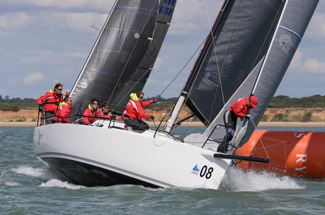 Djinn 2014 J111 World Championship Cowes Isle of Wight England. 22 August 2014 Race 5,6 and 7 © Stuart Johnstone