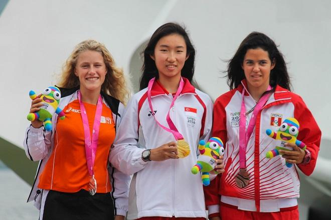 Byte CII - Youth Olympic Games Nanjing 2014  © ISAF