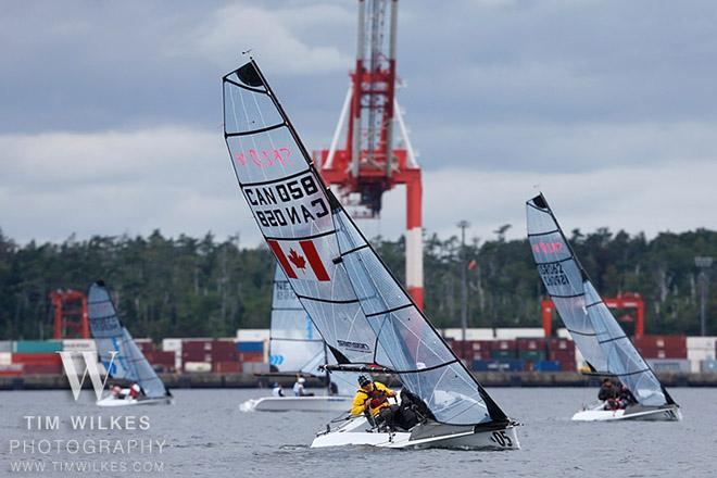 CAN 058 SKUD team - 2014 IFDS World Championship © Tim Wilkes
