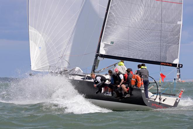 Jitterbug 2014 J111 World Championship Cowes Isle of Wight England. 21 August 2014 Race 3 and 4 ©  Rick Tomlinson http://www.rick-tomlinson.com