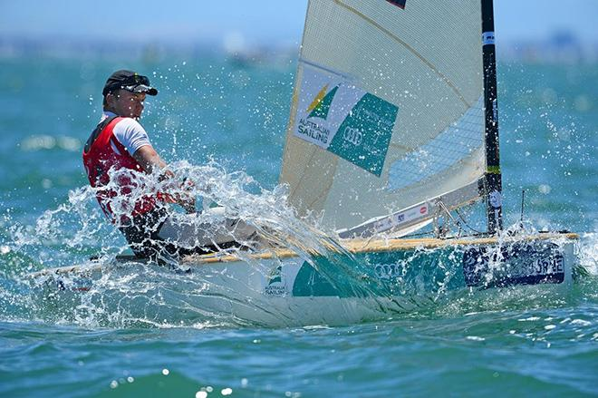 Jake Lilley - ISAF Sailing World Cup – Melbourne © Jeff Crow/ Sport the Library http://www.sportlibrary.com.au