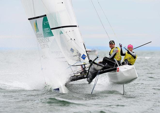 Bundock Curtis - ISAF Sailing World Cup – Melbourne © Jeff Crow/ Sport the Library http://www.sportlibrary.com.au