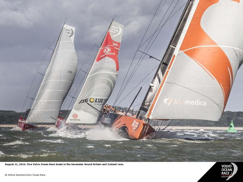 Volvo crews in action ©  Ainhoa Sanchez/Volvo Ocean Race