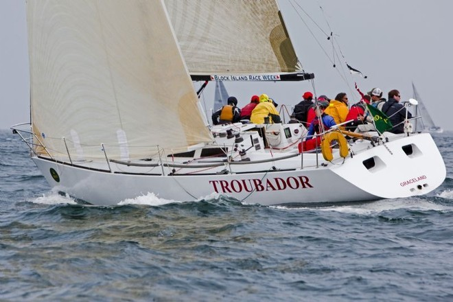 TROUBADOR (Mort Weintraub, Larchmont, NY), swept the IRC35 class with six wins in eight races - Block Island Race Week ©  Rolex / Dan Nerney