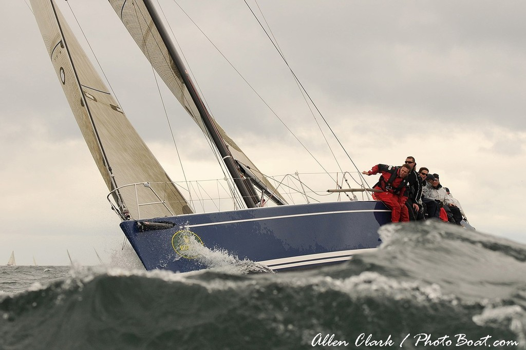 Swan 42 during Block Island Race Week day 1 - Block Island Race Week © Allen Clark http://www.photoboat.com