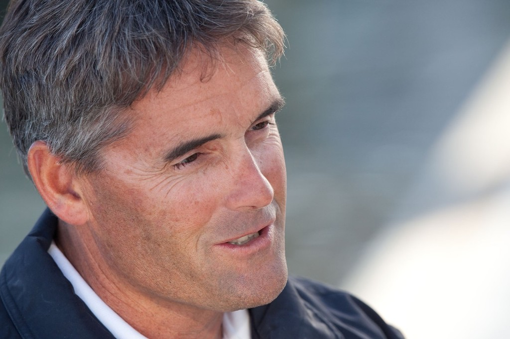 Skipper and CEO Russell Coutts © BMW Oracle Racing Photo Gilles Martin-Raget http://www.bmworacleracing.com