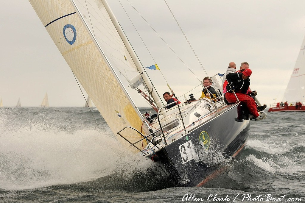 Heavy seas on the North side of Block Island - Block Island Race Week © Allen Clark http://www.photoboat.com
