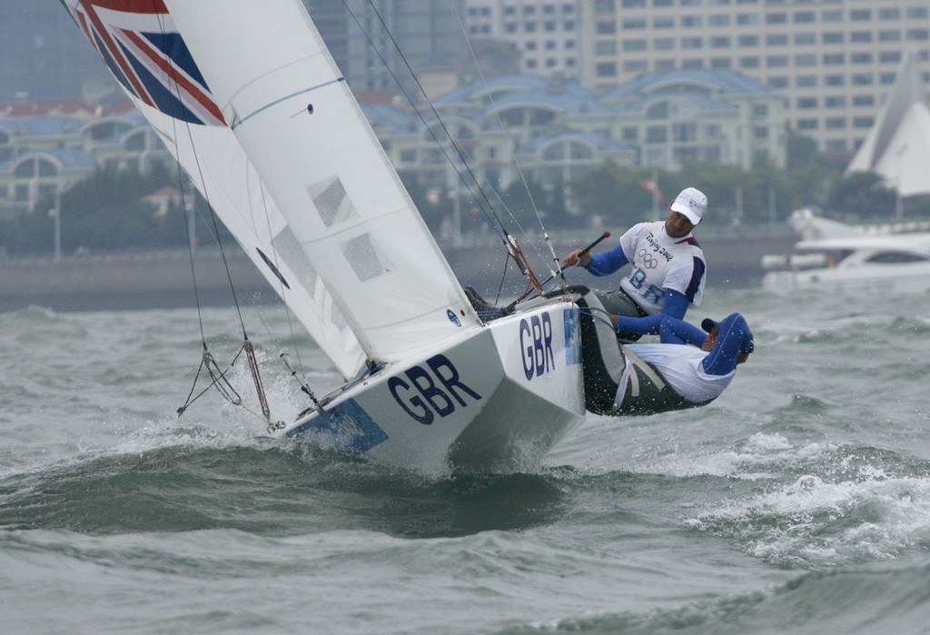Qingdao Olympic Regatta 2008. Percy and Simpson (GBR). © Guy Nowell http://www.guynowell.com