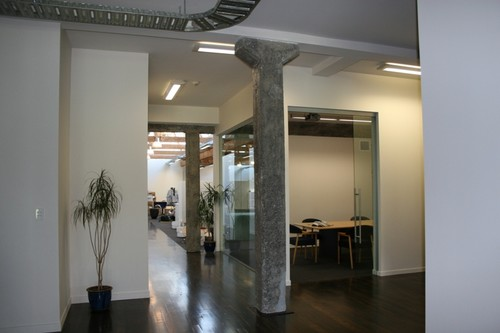 Inside Events Clothing's new offices in Auckland, New Zealand © Kate Gordon
