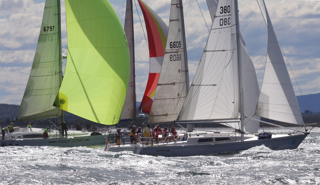Fleet - Commodore's Cup at Sail Port Stephens 2011  <br />  &copy; Sail Port Stephens Event Media