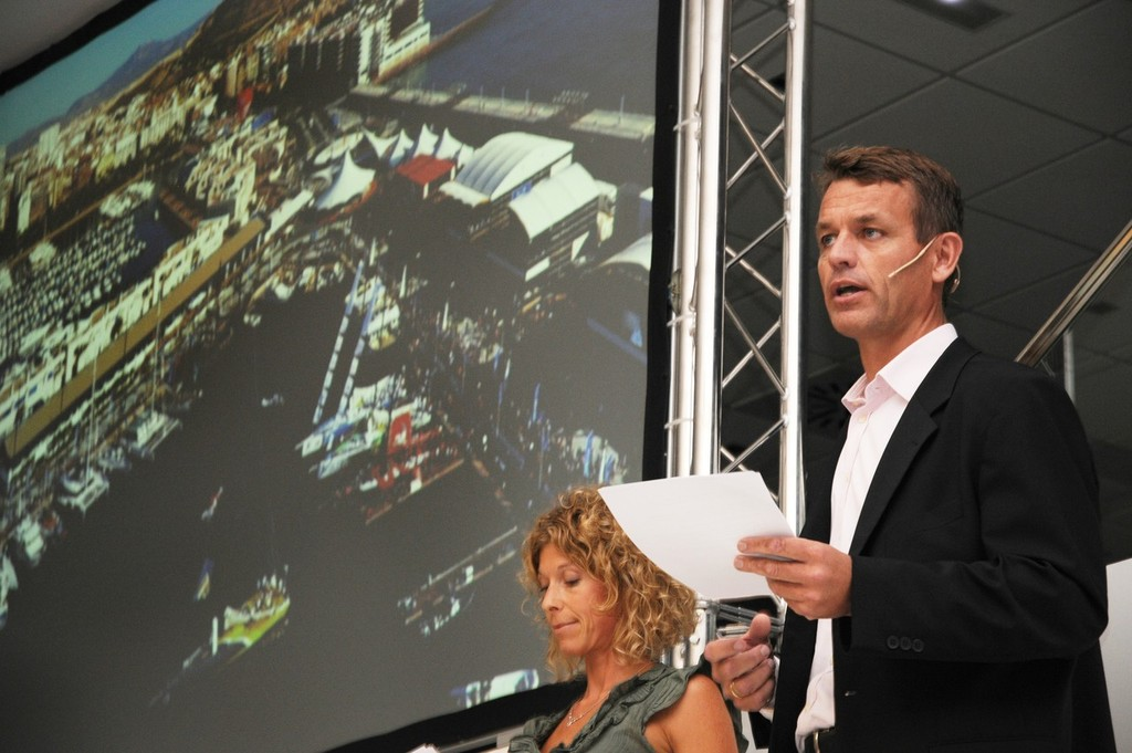 Volvo Ocean Race unveils its new home in Alicante, Spain © Volvo Ocean Race http://www.volvooceanrace.com